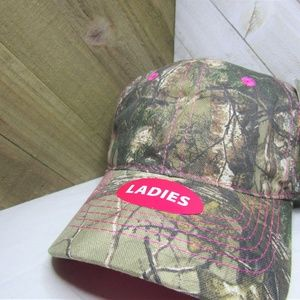 Realtree Camo and Pink Hat